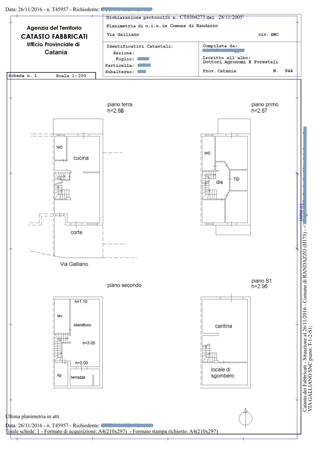 Planimetrie catastali scarica for Planimetria online gratis